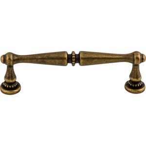 Top Knobs - Edwardian Pull 3 3/4 Inch (c-c) German Bronze