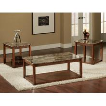 See Details - Oxford Faux Marble Top 3 Pk