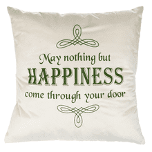 Celtic Knot Pillow - May nothing but happiness come through your door
