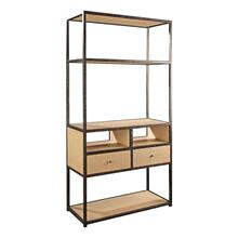 Natural Purveyor Media Etagere