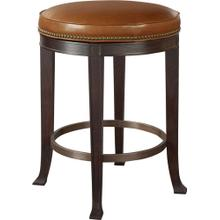Newbury Swivel Backless Counter Stool
