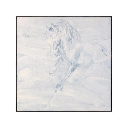Teng Fei's Alabaster Stallion