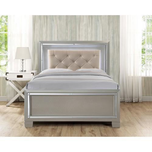 Platinum Youth Full Platform Bed