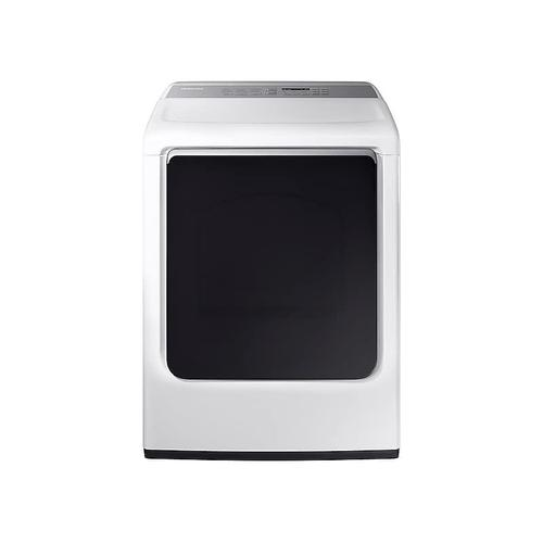 7.4 cu. ft. Electric Dryer with Integrated Controls in White
