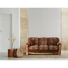 Aspen Rustic Sofa With 2 Pillows