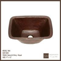 1604 Rectangular Bar Sink Product Image