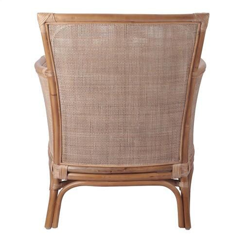 Product Image - Tatum Rattan Accent Arm Chair, Canary Brown