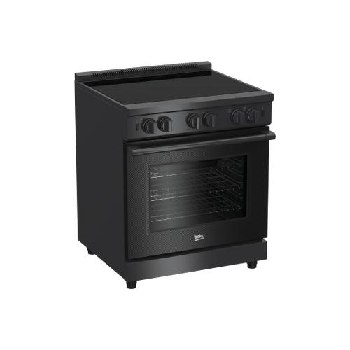 "30"" Carbon Fiber Pro-Style Induction Range"