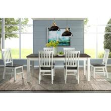 Kayla 7 PC Dining Set   Table & 6 Chairs              (ELE-300D)