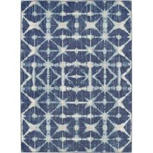 Expressions Triangle Accordion Indigo 2'x3'