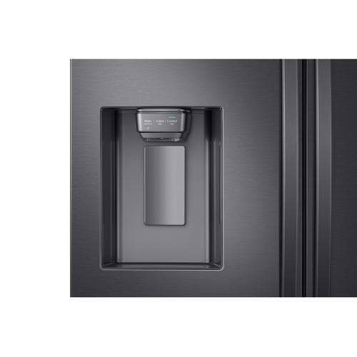28 cu. ft. 4-Door French Door Refrigerator with FlexZone™ Drawer in Black Stainless Steel