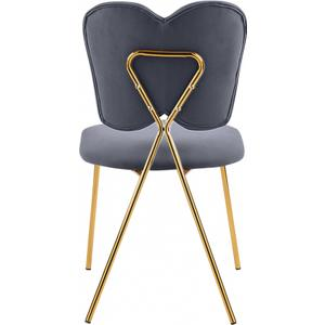 "Angel Velvet Dining Chair - 19"" W x 22"" D x 33.5"" H"