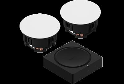 Black- In-Ceiling Set