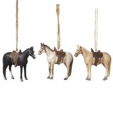Horse Ornaments (3 asstd)