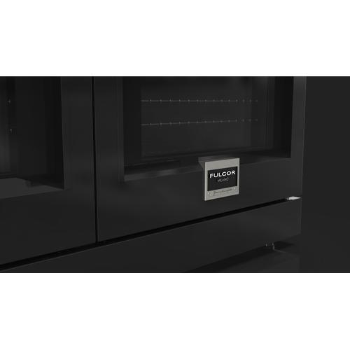 """Fulgor Milano - 48"""" Gondola Black Color Kit"""