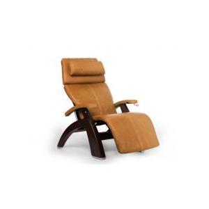 Perfect Chair ® PC-420 Classic Manual Plus - Sycamore Premium Leather - Dark Walnut
