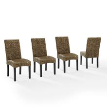 See Details - Edgewater 4pc Dining Chair Set