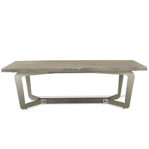 Waverly - Coffee Table - Sandblasted Gray Finish