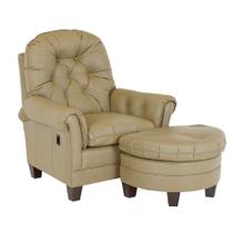 See Details - Crescent Tilt Back Chair & Ottoman