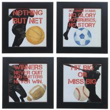SPORTS EPIGRAM 1,2,3 & 4 (SET OF 4)