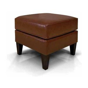 England Furniture6207LS Collegedale Leather Ottoman