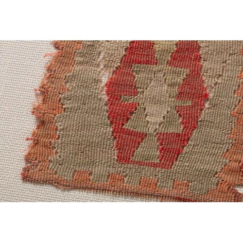 0351180016 Vintage Turkish Rug Wall Art