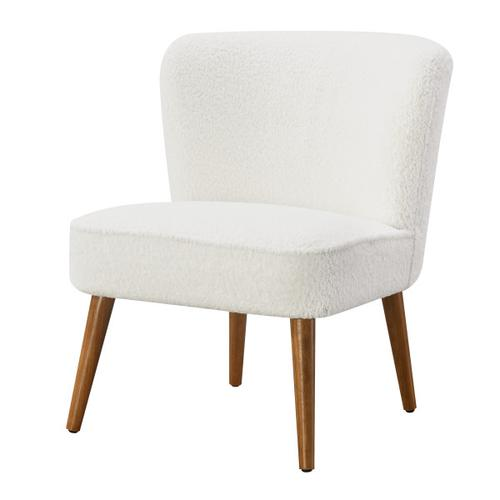 Armless Chair - White
