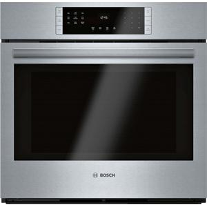 Bosch800 Series Single Wall Oven 30'' Stainless steel