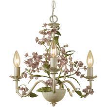 See Details - AF Lighting Grace Three-Light Chandelier, 7044-3H