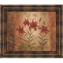 """""""The Lily Style"""" By Vivian Flasch Framed Print Wall Art"""