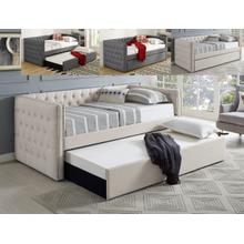 Trina Ivory Daybed with Trundle