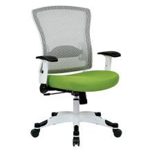 White Frame Managers Chair (