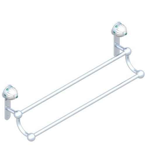 Porte-serviette Avec 2 Barres Fixes LG 600 Mm