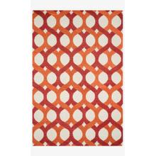 View Product - Hws04 Red / Orange Rug