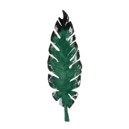 Emerald Leaf Wall Decor (s3)