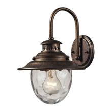 View Product - Searsport 1-Light Outdoor Wall Lamp in Regal Bronze