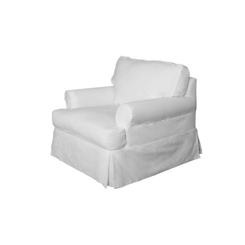 Horizon Slipcovered Chair - Color: 391081