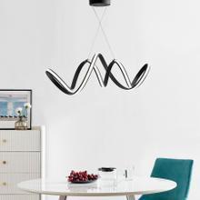 See Details - Seville LED Chandelier // Black