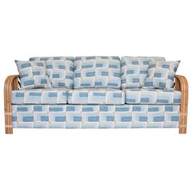 3 over 3 Deluxe seat cushions, Sofa arms available in Natural Finsh Only.