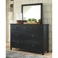 Noorbrook Dresser and Mirror Black