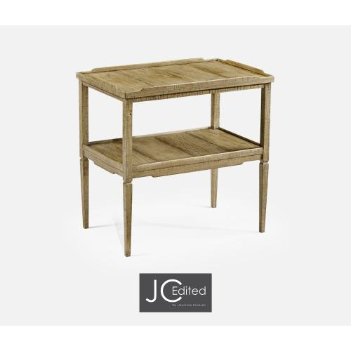 Casual Rectangular Side Table