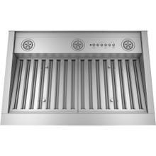 """30"""" Smart Designer Custom Insert with Dimmable LED Lighting Stainless Steel - UVC9300SLSS"""