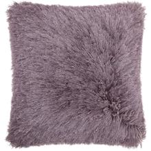 "Shag Tl004 Lavender 20"" X 20"" Throw Pillow"