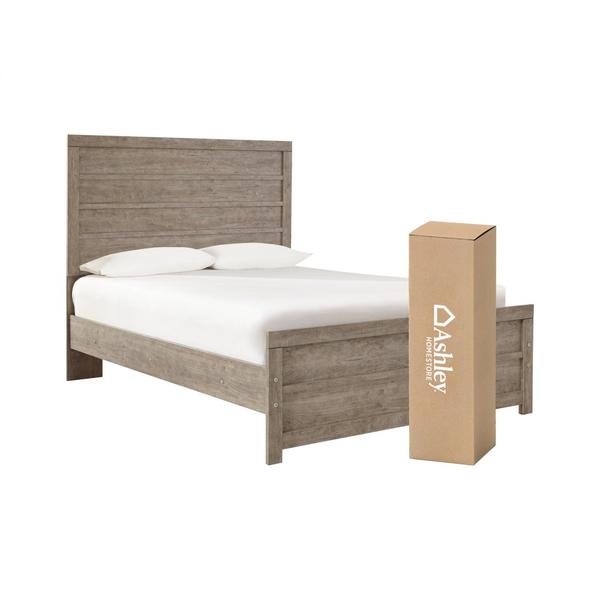 Full Panel Bed With Mattress