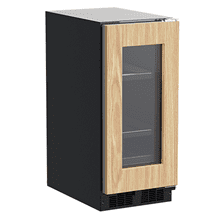 View Product - 15-In Built-In Beverage Center with Door Style - Panel Ready Frame Glass