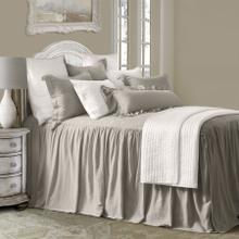 See Details - Luna Bedspread Set W/ Drop Skirt, Taupe - Full