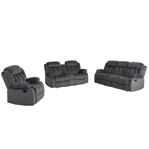 SU-ZY550 Collection Reclining Living Room Set (3 Piece)