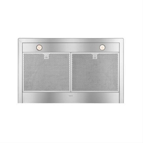 "36"" Brushed Stainless Steel Wall Mount Chimney Hood with Internal 600 CFM Blower"