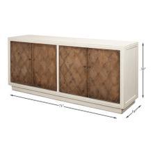 See Details - Argyle Sideboard,4 Doors,Antique White