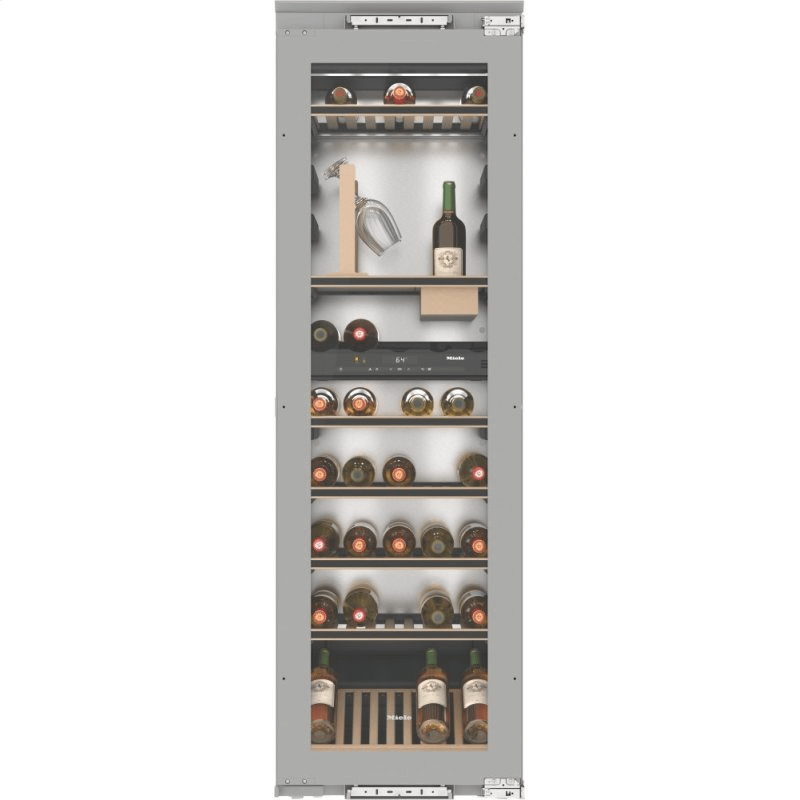 KWT 6722 iS - Built-in wine storage unit with FlexiFrame, SommelierSet and Push2open for demanding wine connoisseurs.